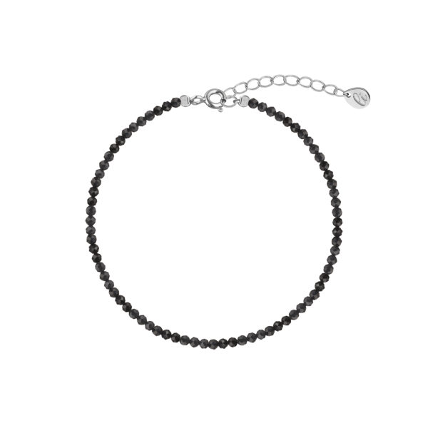 базовое украшение браслет из черной шпинели
