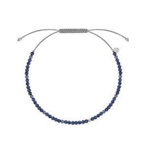 сапфировый браслет