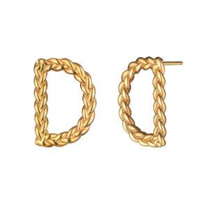 Позолоченные серьги D